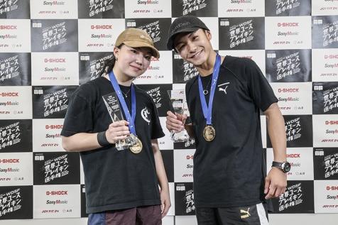 日本が男女でダブル優勝!WDSF世界ユースブレイキン選手権
